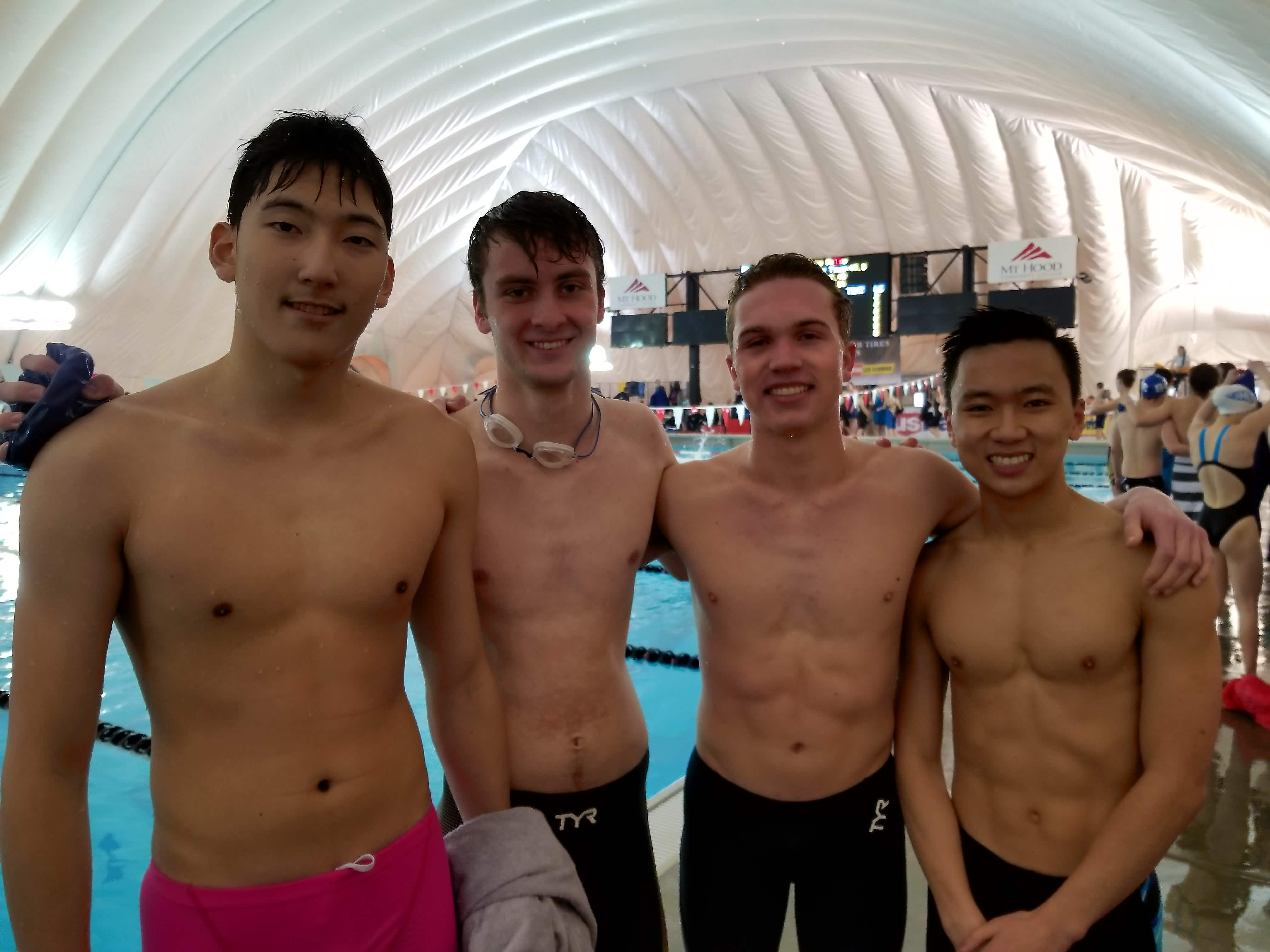 Crusader swimmer Zhu takes third at state