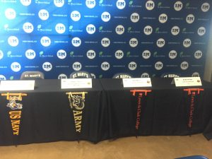 Military Academy Appointments and Collegiate Signing Day