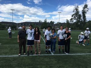 Lacrosse Senior Recognition day