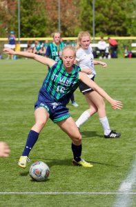 Varsity Girls Soccer versus Cascade Christian