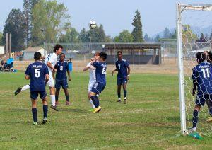 ST Marys Varsity Soccer versus Canyonville