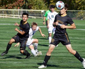 St Mary's Varsity Soccer versus Cascade Christian