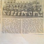 Throwback Thursday: 1960 Class B Football Champions