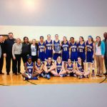 Marian Basketball Varsity Girls beats Clarkston  40-37 wins Regional Championship.