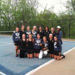 Marian Tennis wins 5th straight CHSL Championship!