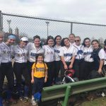 Marian High School Varsity Softball beat Cesar Chavez Academy High School 21-5