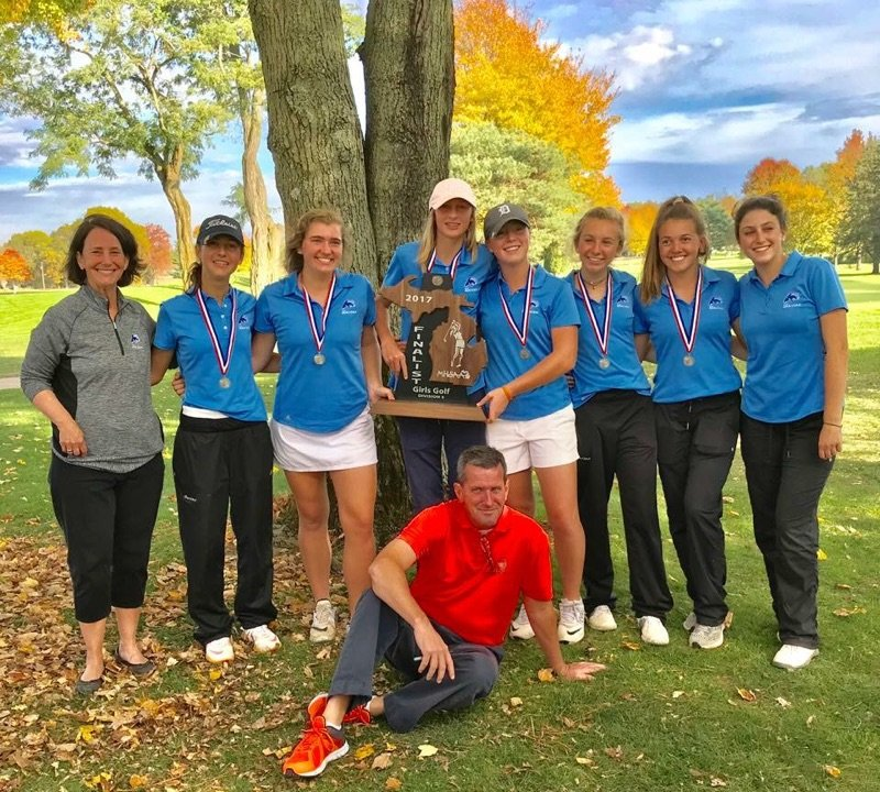 Marian golfers finish 2nd at State finals!