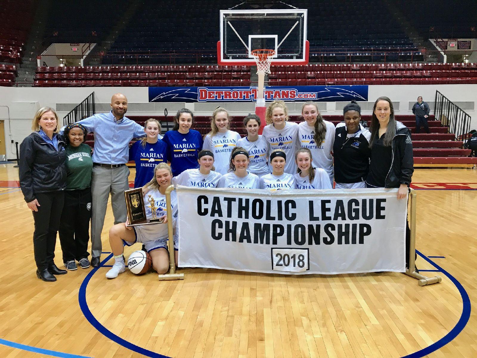 Basketball wins A-B CHSL Championship!