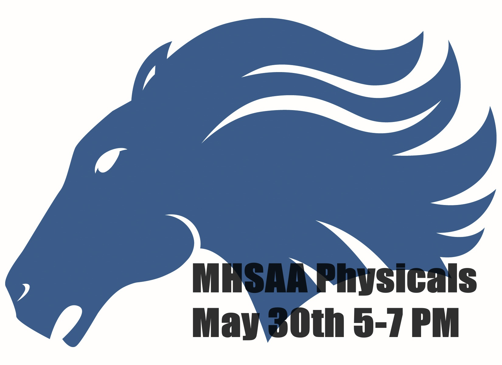 MHSAA Physicals at Marian on May 30th.