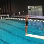 Emily Dailey Finishes 9th at Diving Regionals
