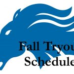 First day of tryouts times and places are set!!
