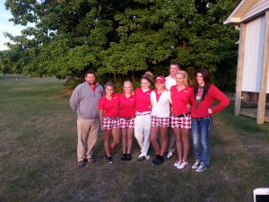 Lady Spartan Golfers Win the EIAC!