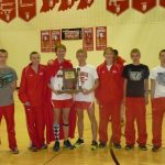 Connersville High School Cross Country Varsity finishes 1st place at 2013 IHSAA Boy's Cross Country Sectional