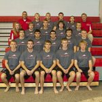 Connersville High School Swimming Varsity Boys finishes 1st place at Connersville vs Hagerstown
