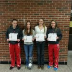 Lady Spartan All-Conference Cross Country Runners