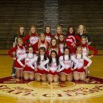Connersville High School Cheerleaders to be on Channel 13 WTHR