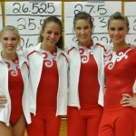 Gymnast prepare for the State Meet