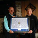 Golf State Finals Flag Presentation