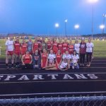 2014 Sectional Track Champions…..THE LADY SPARTANS!!!!!