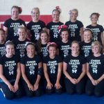 2014-2015 CHS Varsity Cheerleaders