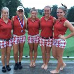 Lady Spartan Golfer win the EIAC for the second consecutive year