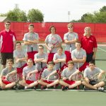 Connersville High School Tennis Varsity Boys finishes 2nd place at IHSAA Sectional