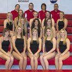 Connersville High School Varsity Swimming beat Rushville Consolidated High School 124-37