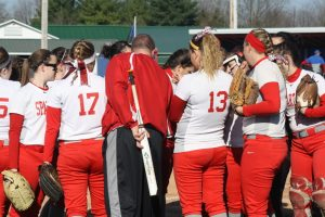 CHS varsity softball vs Union County 4-11-15
