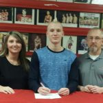 Brennan Beckman will swim for Lindsey Wilson College!