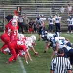 Connersville High School JV Football beat Franklin County 50-14