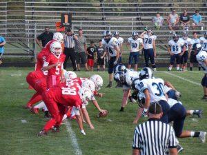 JV Spartan Football vs. Franklin County