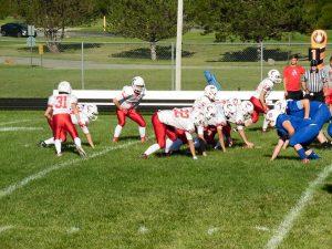 JV Spartan Football vs. Union County
