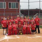 Connersville High School Varsity Softball beat madison 2-1