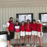 Connersville High School Girls Varsity Golf finishes 2nd place