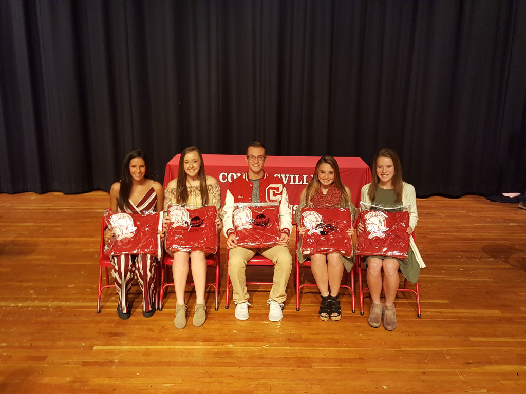 Fall Sports Awards Spartan Blanket Winners