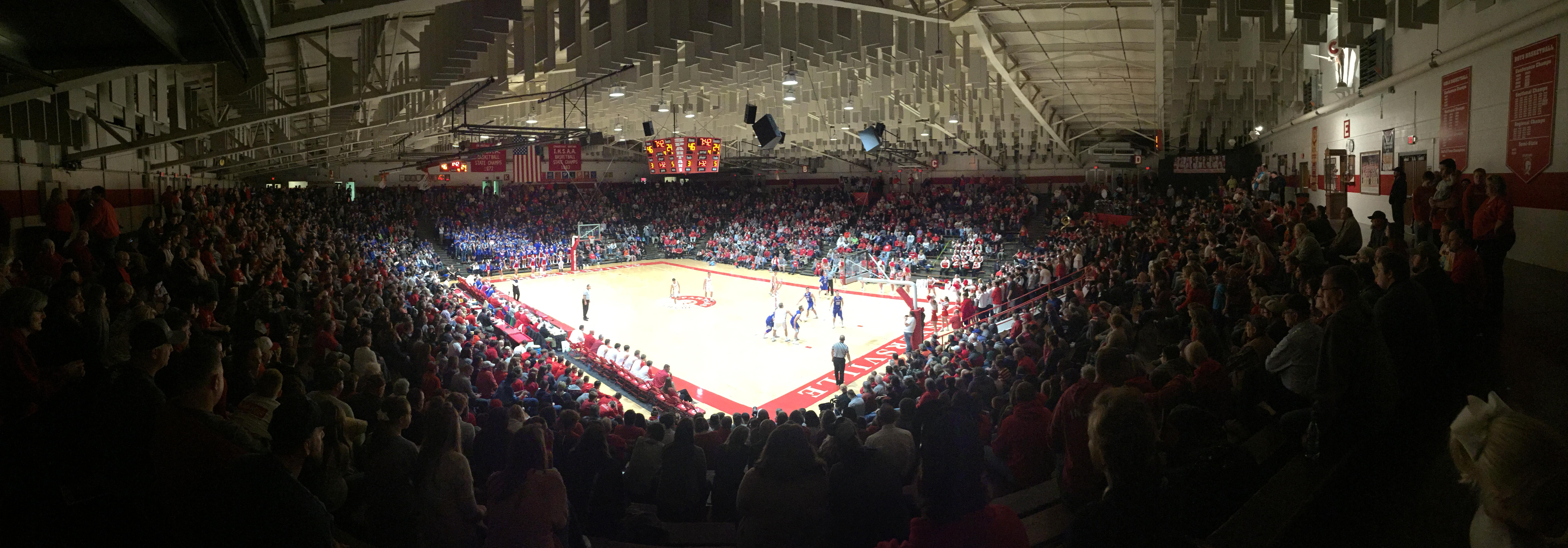 Hoosier Hysteria…..Spartan Bowl 2017 Opening Night Boy's Basketball
