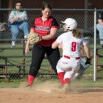 Girls Varsity Softball falls to South Dearborn 14 – 6
