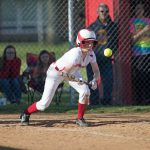 Girls Varsity Softball falls to East Central 6 – 2