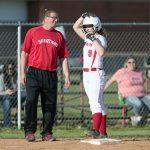 Girls Varsity Softball beats Batesville 9 – 2