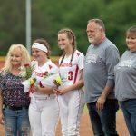 Girls Varsity Softball beats Rushville 14 – 5