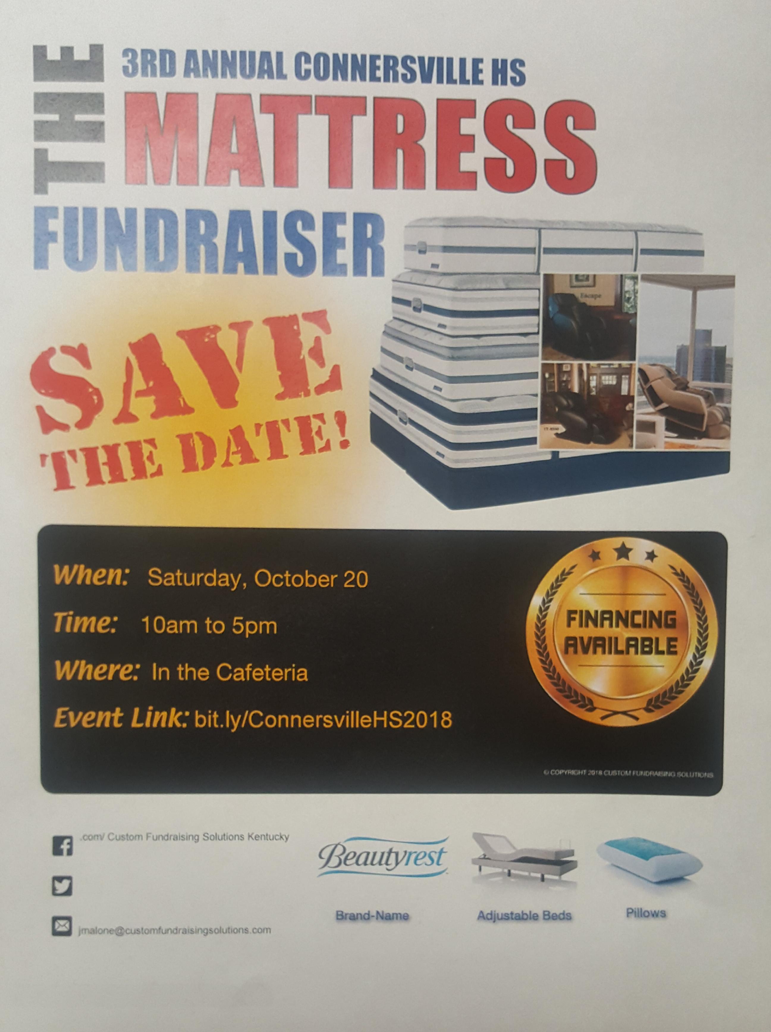 Mattress Sale Fundraiser is Approaching