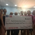 Swim Teams support local Cancer Society