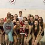 Girls Varsity Swimming finishes 2nd place at CHS Invitational