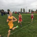 Adam Arndt Leads Boys to 4th Place Finish at East Central