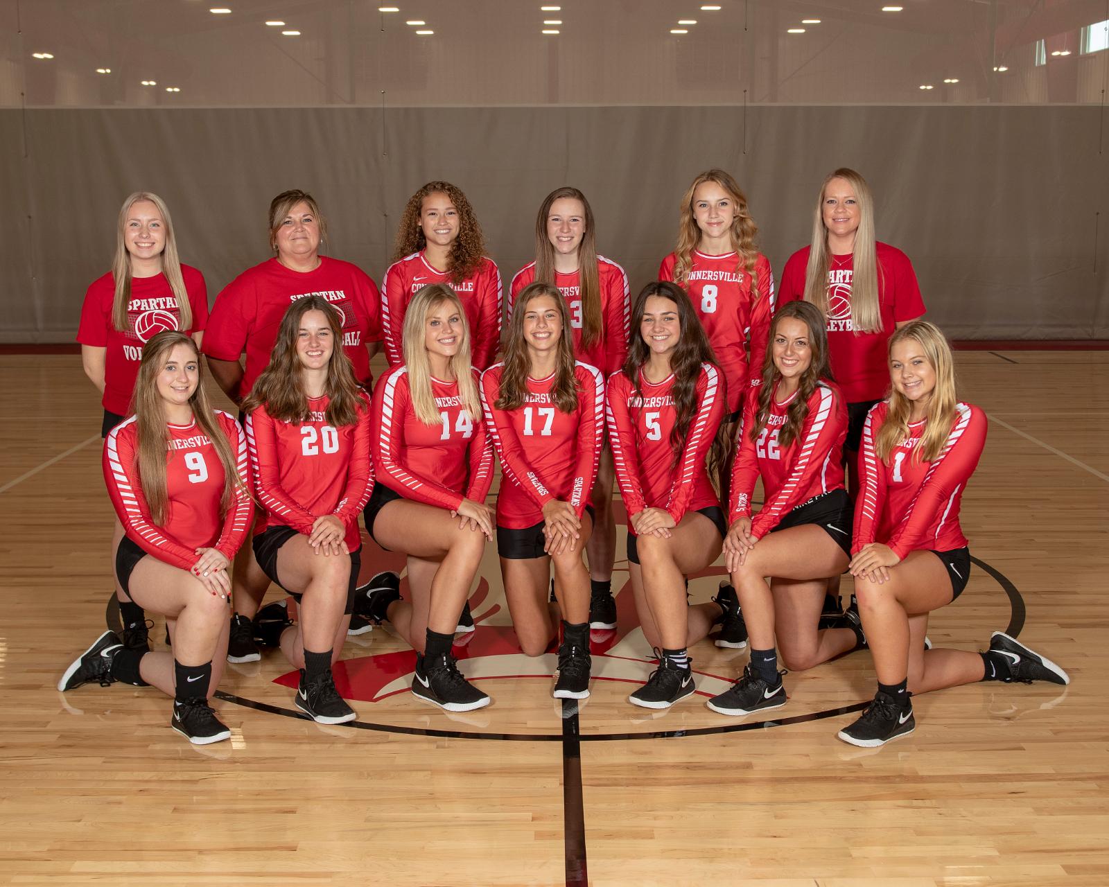 2020-2021 Volleyball Team