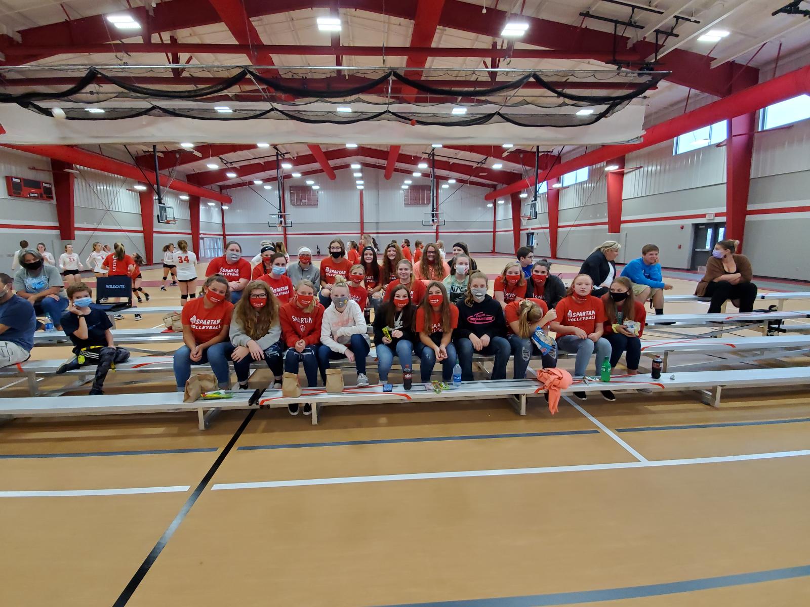 2020 Spartan Volleyball