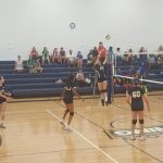 JV Volleyball loses first match of the season