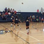 MS A/B/C Volleyball in action this past weekend