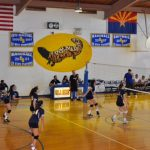 JV Volleyball Beats #1 Gila Bend on the Road