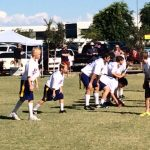 MS Flag Football Plays Well at Home